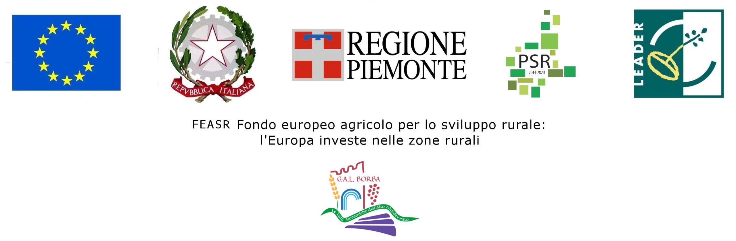 GAL BORBA- FEASR – FONDO Europeo agricolo per lo sviluppo rurale